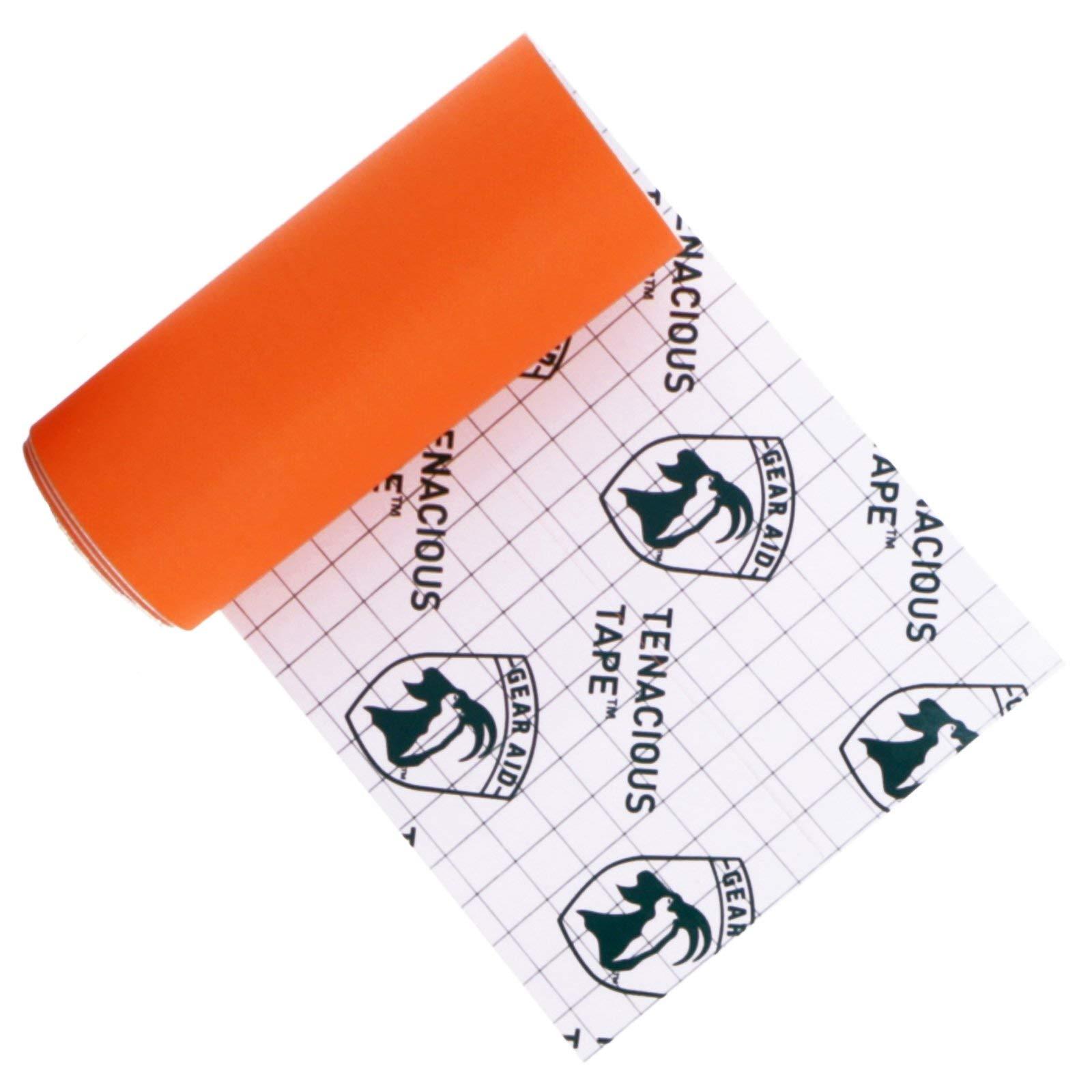 "Gear Aid Tenacious Tape Nylon Repair Tape for Fabric and Vinyl, 3"" x 20"", (Orange) by Gear Aid (Image #4)"