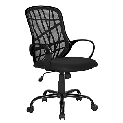 Green Forest Office Chair For Computer Desk Mesh Mid Back Swivel Task With Special