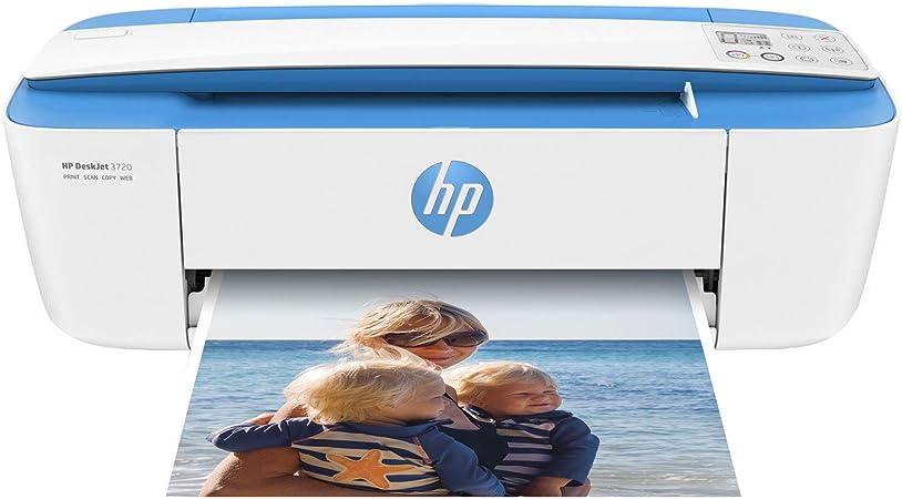 HP DeskJet 3720 AiO - Impresora multifunción (Wi-Fi, USB 2.0 ...