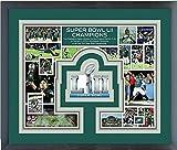 Philadelphia Eagles Super Bowl Photo Collage Matted & Framed 12.5'' x 15.5''