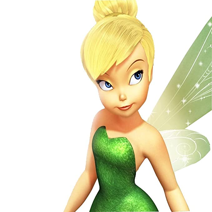 kissmywig Mujer Cosplay peluca recta corta de Tinker Bell con pelo bun sintético Rubio: Amazon.es: Belleza