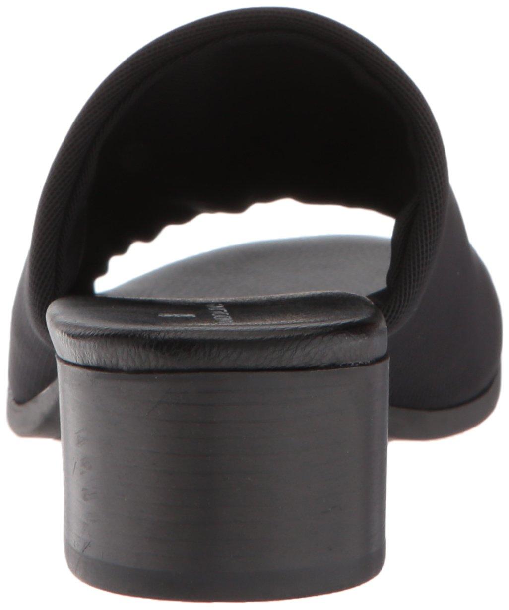 Bandolino Women's Evelia Slide Sandal B077RZVY1G 5.5 B(M) US|Black Fabric