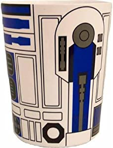 Jay Franco Star Wars Trashcan Waste Basket, White