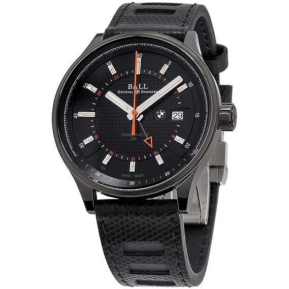 Ball BMW Reloj de Hombre automático 42mm Correa de Silicona GM3010C-P1CFJ-BK: Amazon.es: Relojes