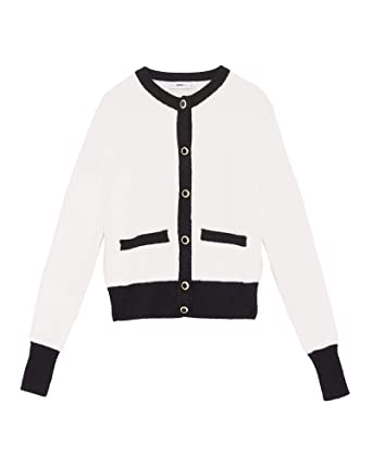 72d1b6ad Zara Women's Soft-Touch Knit Cardigan 9598/150 Off-White: Amazon.co ...