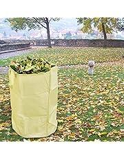 Opbergtas voor tuinbladen, herbruikbare tuinbladen, afvalzakken voor het verzamelen van bladeren, zware tuintas, gazonzwembad, tuinbladzak (S/L)