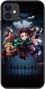 Blacklove Demon Slayer Anime Manga Comic Theme Case for Apple iPhone (iPhone 12 Pro)