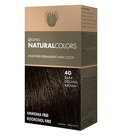 Amazon Com Onc Naturalcolors 4g Dark Golden Brown Healthier