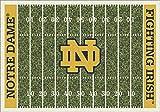 NCAA Home Field Rug - Notre Dame Fighting Irish, 3'10'' x 5'4''