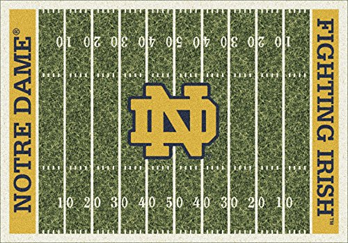(Milliken 4000018572 Notre Dame College Home Field Area Rug, 5'4