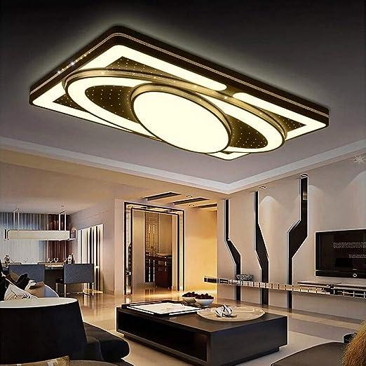 MYHOO 78W Blanco Cálido LED Luz De Techo De La Cocina Moderna De Energía Pasillo De La Lámpara De Techo Sala De Estar Dormitorio De La Lámpara De La ...
