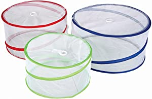 Stansport010 Pop-Up Mesh Food Covers (Set of 3), 15
