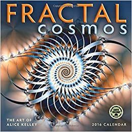 fractal cosmos 2016 wall calendar