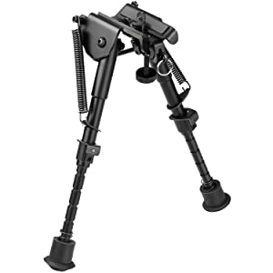 CVLIFE Hunting Rifle Bipod - 6 Inch to 9 Inch Adjustable Super Duty Tactical Rifle Bipod