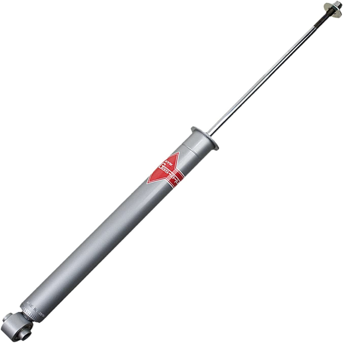 White KYB  KG9136 Gas-a-Just  Monotube Shock,Silver