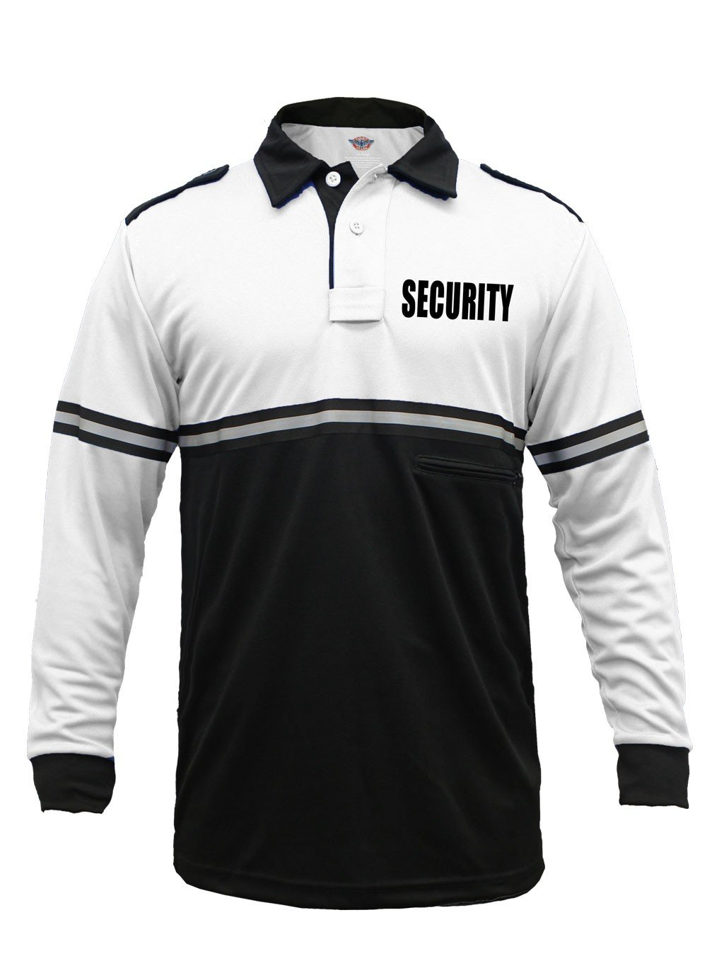 cb9c5dd0 Black Security Polo Shirts