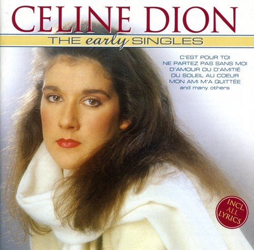 DION CELINE - Early Singles - CD - Extra Tracks Import - $44.95