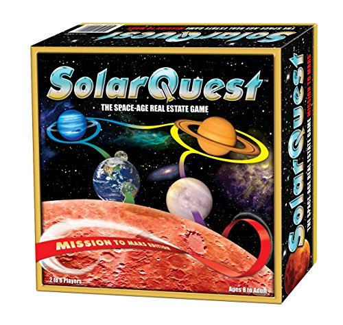 - SolarQuest The Space-Age Real Estate Game: Mission to Mars Edition