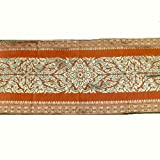 Danai Presents.LOVELY FLORA FOR KING SIZE BED BEAUTIFUL BED RUNNER WIDTH 19 IMCHES LONG 80 INCHES