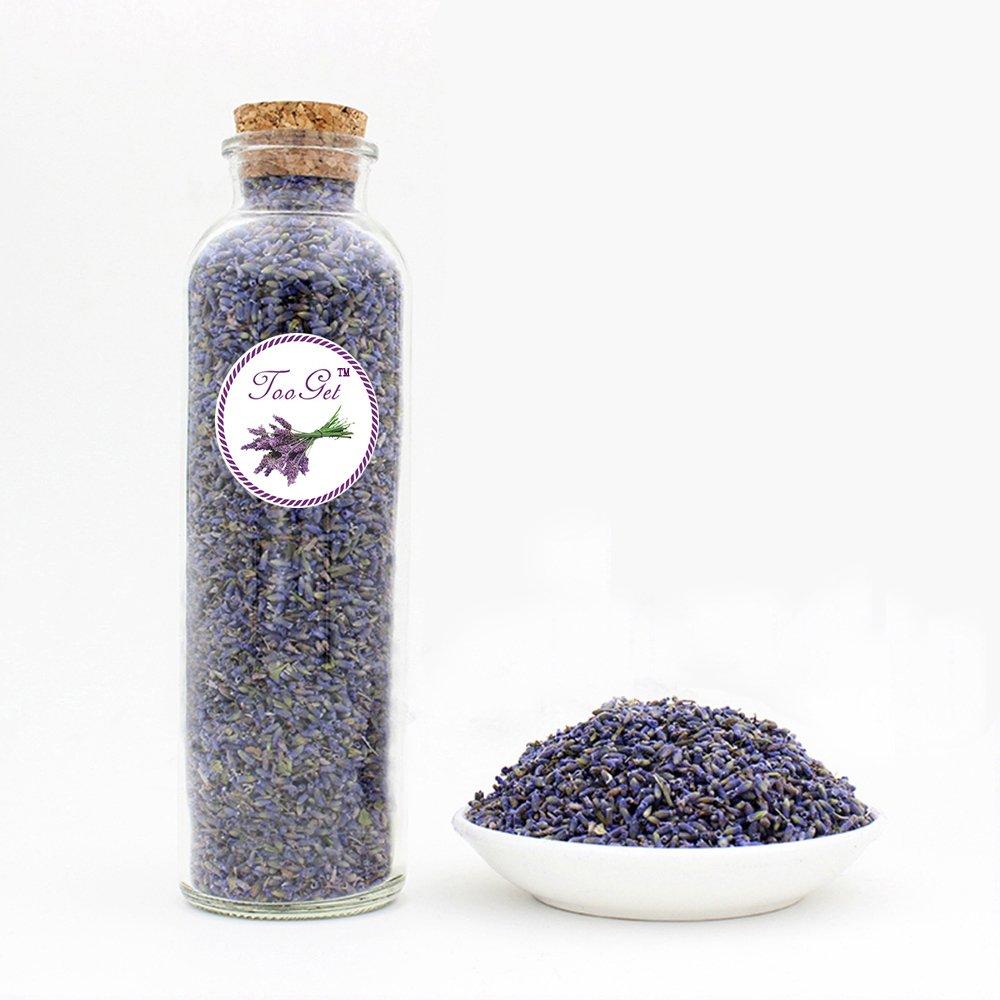 TooGet Organic Lavender Flower 100% Pure Top Grade Lavender buds Good for Home, Desk, Office Decoration TooGet Technology