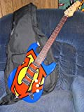 """New 30"""" Kids Black Electric Guitar With Amp & Much More Guitar Combo Accessory Kit"""
