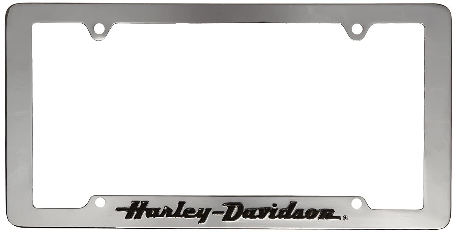 Chroma Graphics 6305 Auto Tag Harly W//Blk Letr