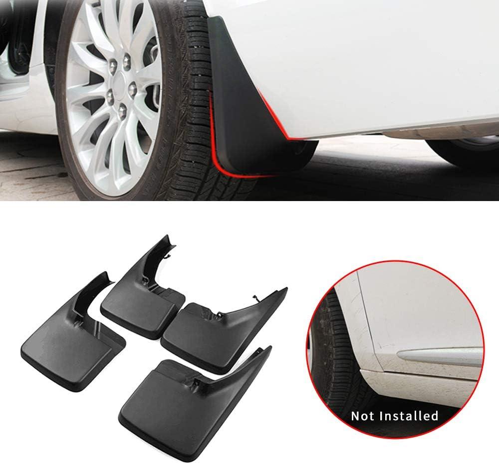 Maite Car Front and Rear Mud Flaps Splash Guards Fender Mudguard for Dodge Ram 1500//2500//3500 4Pcs