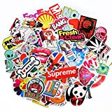 Best unknown Brand Laptops - 50-Pack SuprCool Stickers - Laptop Cellphone Pad Skateboard Review