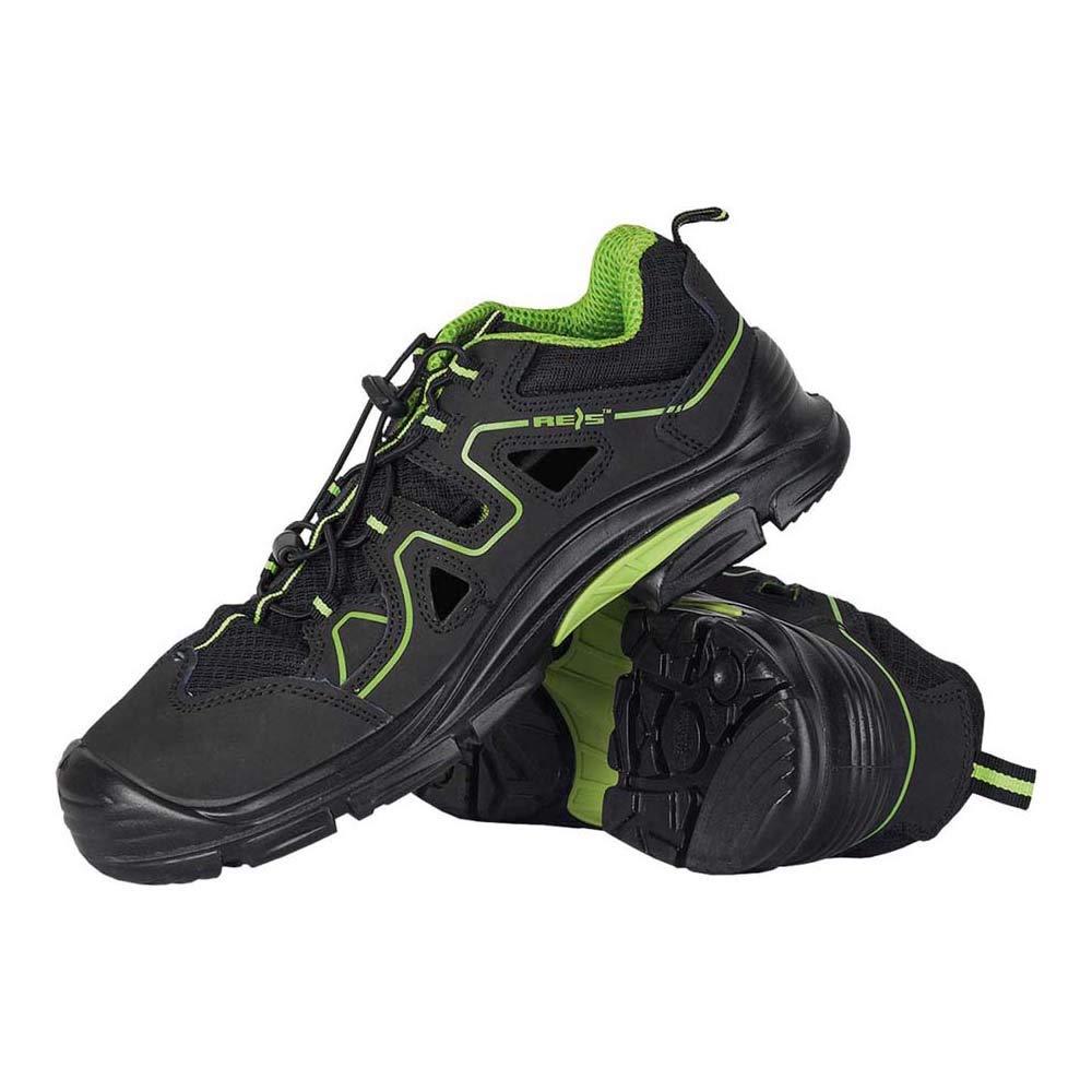 Reis BCA-BREMA-S1P_48 Composite Power - Calzado de seguridad (talla 48), color negro y verde: Amazon.es: Industria, empresas y ciencia