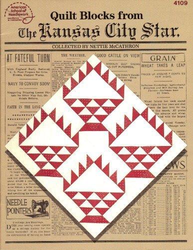 Quilt blocks from the Kansas City Star (American School of Needlework)