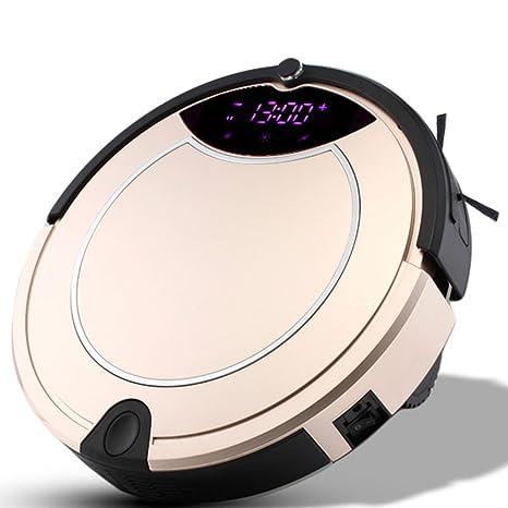 MIAO@LONG Robot Aspirador Con Autocargador Y Sensor Anti-Caída Aplicar Para Varios Piso