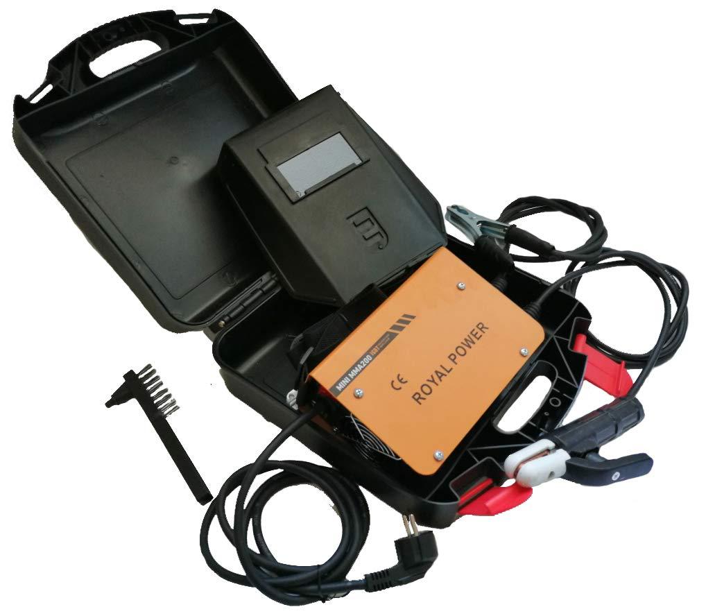 IGBT-Wechselrichter Wechselrichterschwei/ßger/ät MINI MMA-200 Schwei/ßger/ät tragbares Lichtbogenschwei/ßger/ät
