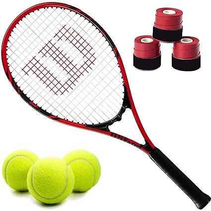 4dc524cd40340 Amazon.com: Wilson Federer Pre-Strung Recreational Tennis Racquet ...