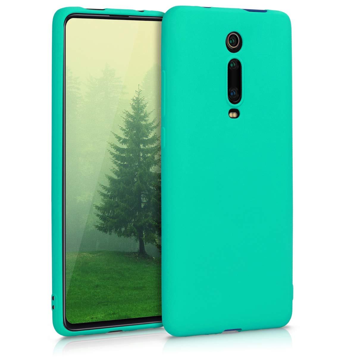 Funda De Silicona Para Xiaomi Mi 9t Pro Turquesa Kwmobile