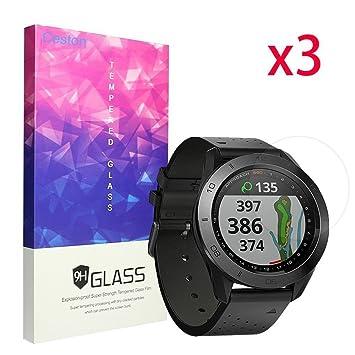 Garmin enfoque S60 Protector de pantalla, ceston 9H vidrio templado Protector de pantalla para Garmin