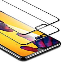 Pellicola Huawei P20 Lite [Copertura Completa][2 Packs], ESR Pellicola Vetro Temperato [Anti-Graffo/Olio/Impronta] con 9H Durezza Protezione Elevata per Huawei P20 Lite da 5,84 Pollici (Uscito a 2018).