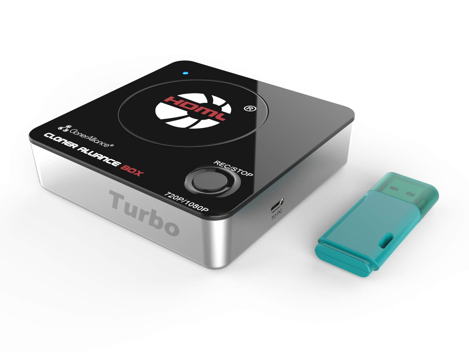 HDML-Cloner Box Turbo, Next-Generation 1080p hdmi Capture Device and Mini Video Capture Box. Schedule capturing with New Hi-Speed Communication Port. 16GB Flash Drive Included. by ClonerAlliance