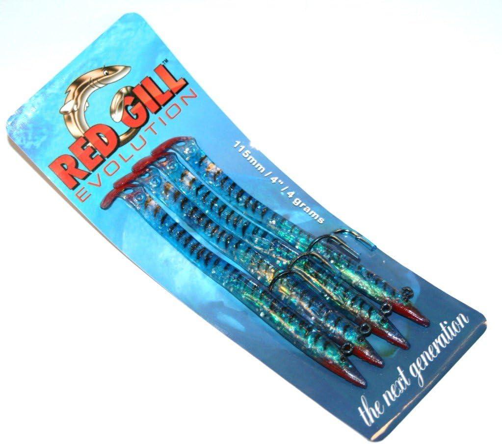 Red Gill RGE11512 Leurres de p/êche Mixte 115 mm Bleu