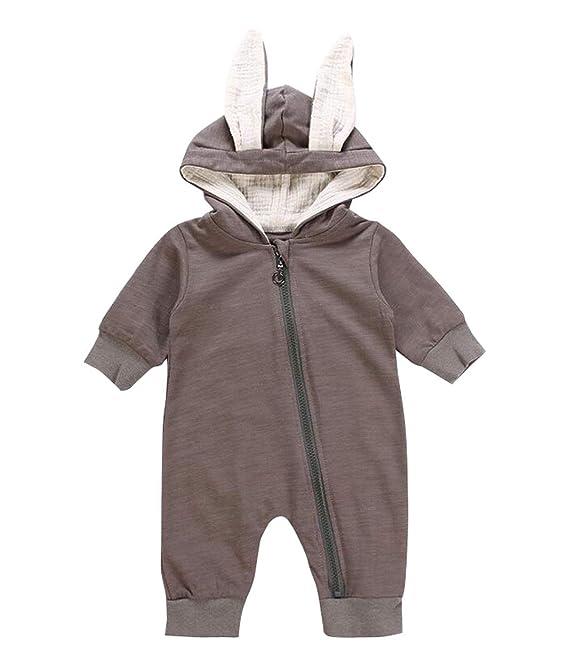 Traje de chándal con capucha para bebé, chico y niña, traje de ...