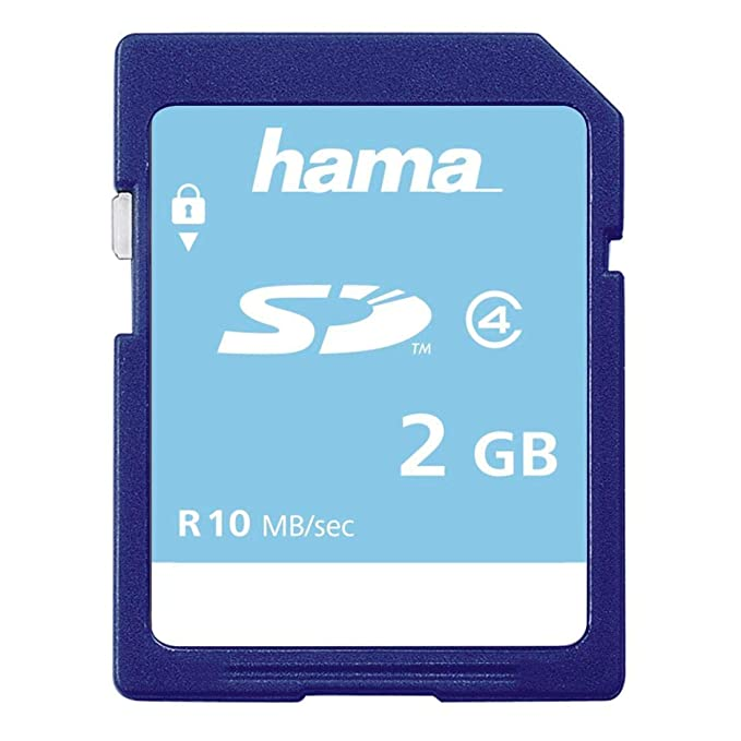 Hama 055377, Tarjeta de Memoria Secure Digital de 2 GB, Colores ...