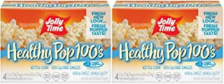 product image for Jolly Time 100 Calorie Healthy Pop Kettle Corn Mini Bags - 4 Count Boxes (Pack of 2)