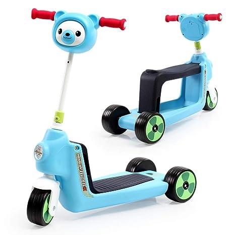 Andador para bebés, triciclos para niños multiusos Scooter ...