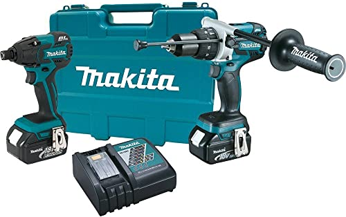 Makita XT257M 18V LXT Lithium-Ion Brushless Cordless Combo Kit, 2-Piece Discontinued by Manufacturer Discontinued by Manufacturer