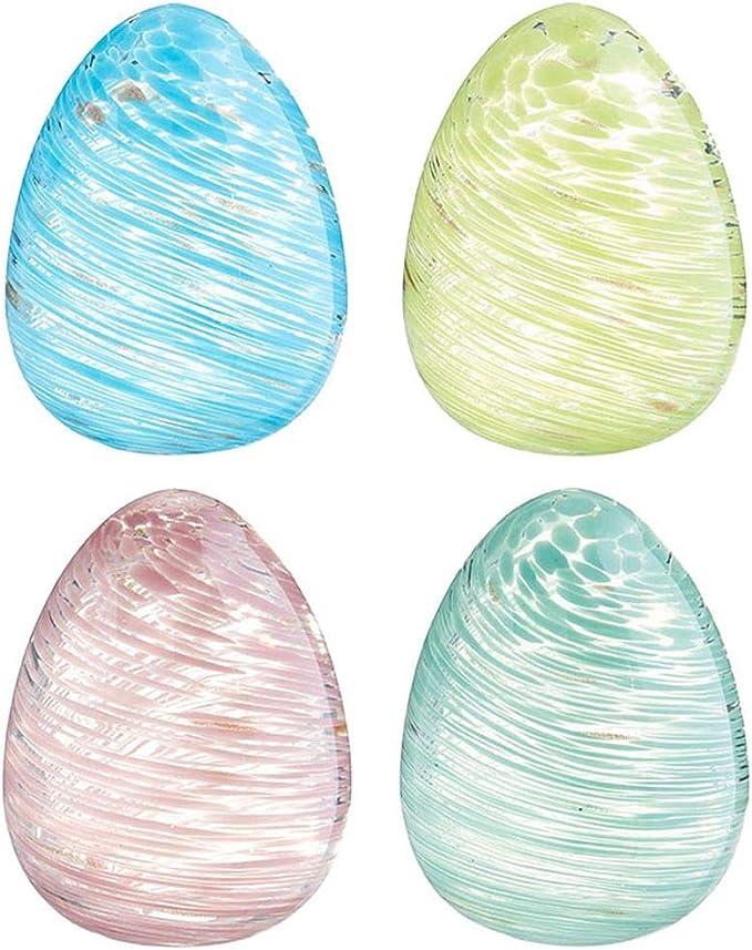 Blown Glass Easter Egg #2MCX