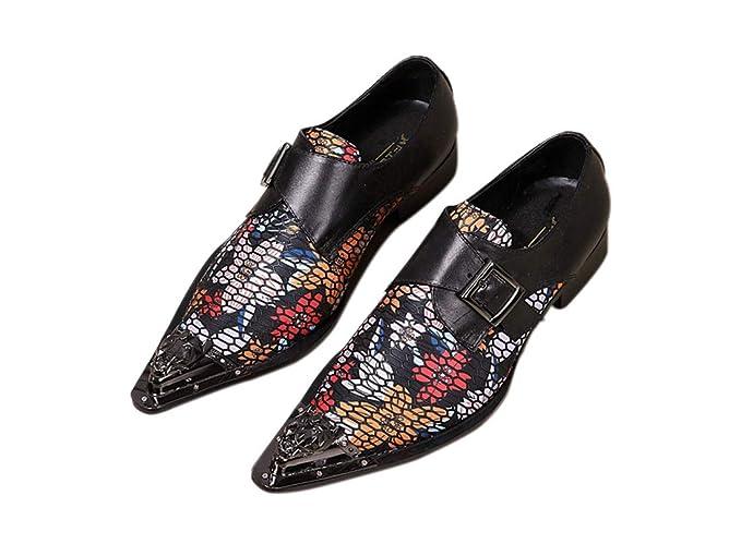 Amazon.com: DANDANJIE Mens Formal Shoes Fall Winter Vintage ...