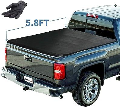 Amazon Com Yitamotor Soft Tri Fold Truck Bed Tonneau Cover