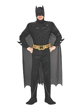 Rubies 880671, Disfraz de Batman para hombre, Negro, L