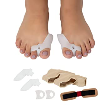 Bunion Corrector Kit, Hammertoe Relief, 7 Pieces Set, Toe Separators, Orthopedic,