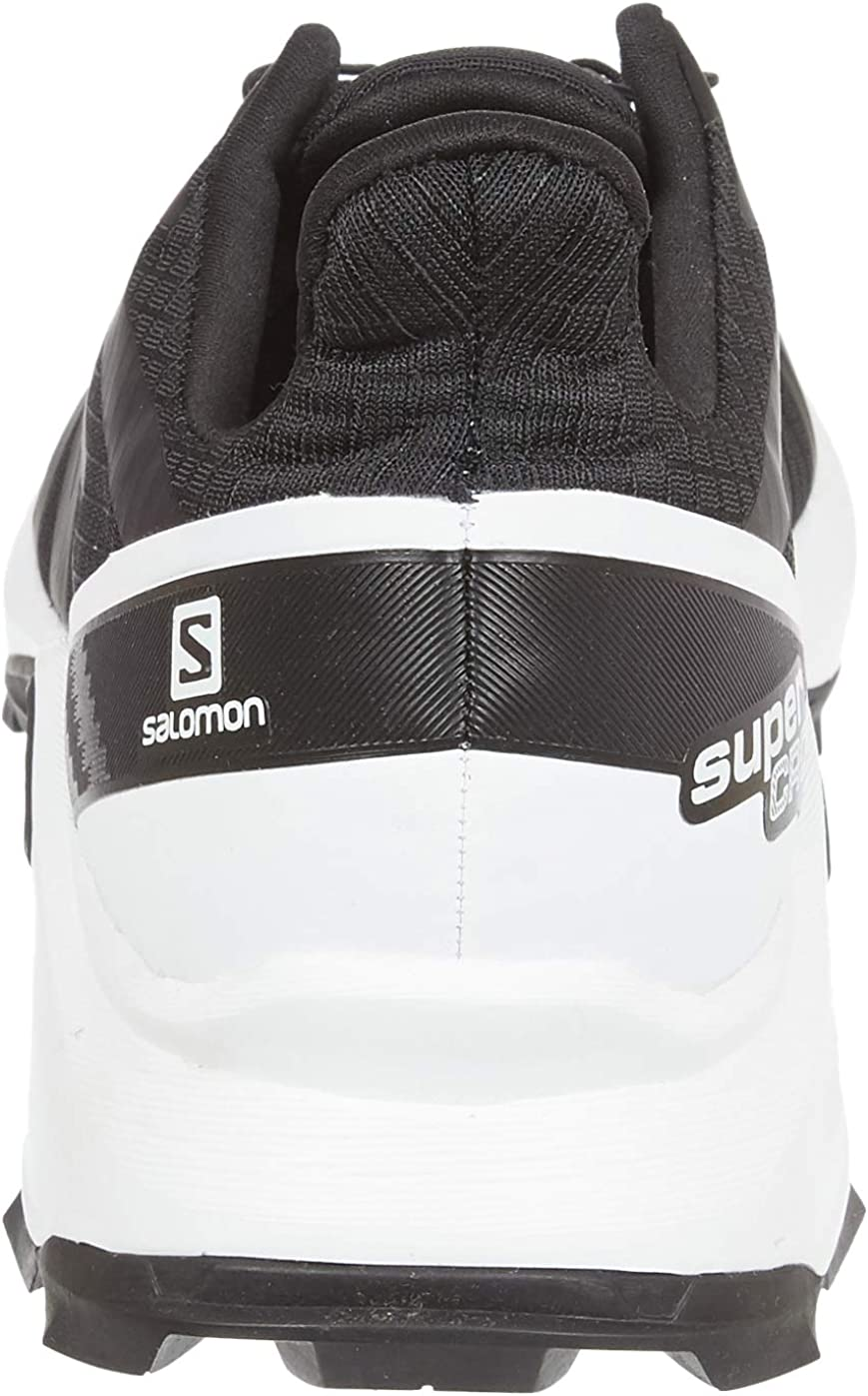 SALOMON Supercross, Chaussures de Course Supercross Trail. Homme Noir Blanc