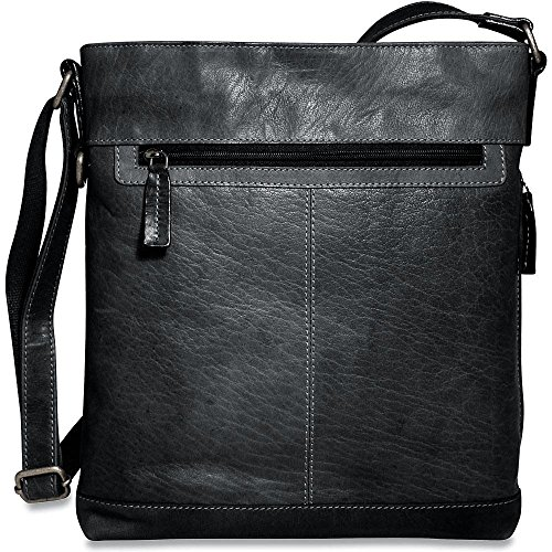Jack Georges Voyager Collection Cross Body Bag in Slate